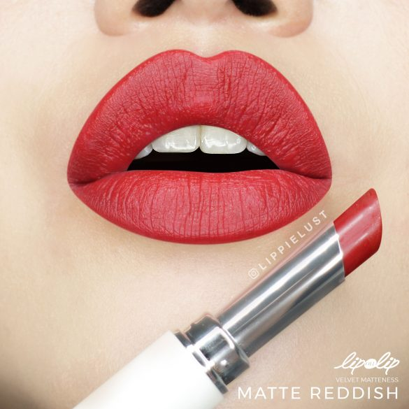 [SWATCH & REVIEW] Lip On Lip by ROHTO Velvet Matteness Lipstick