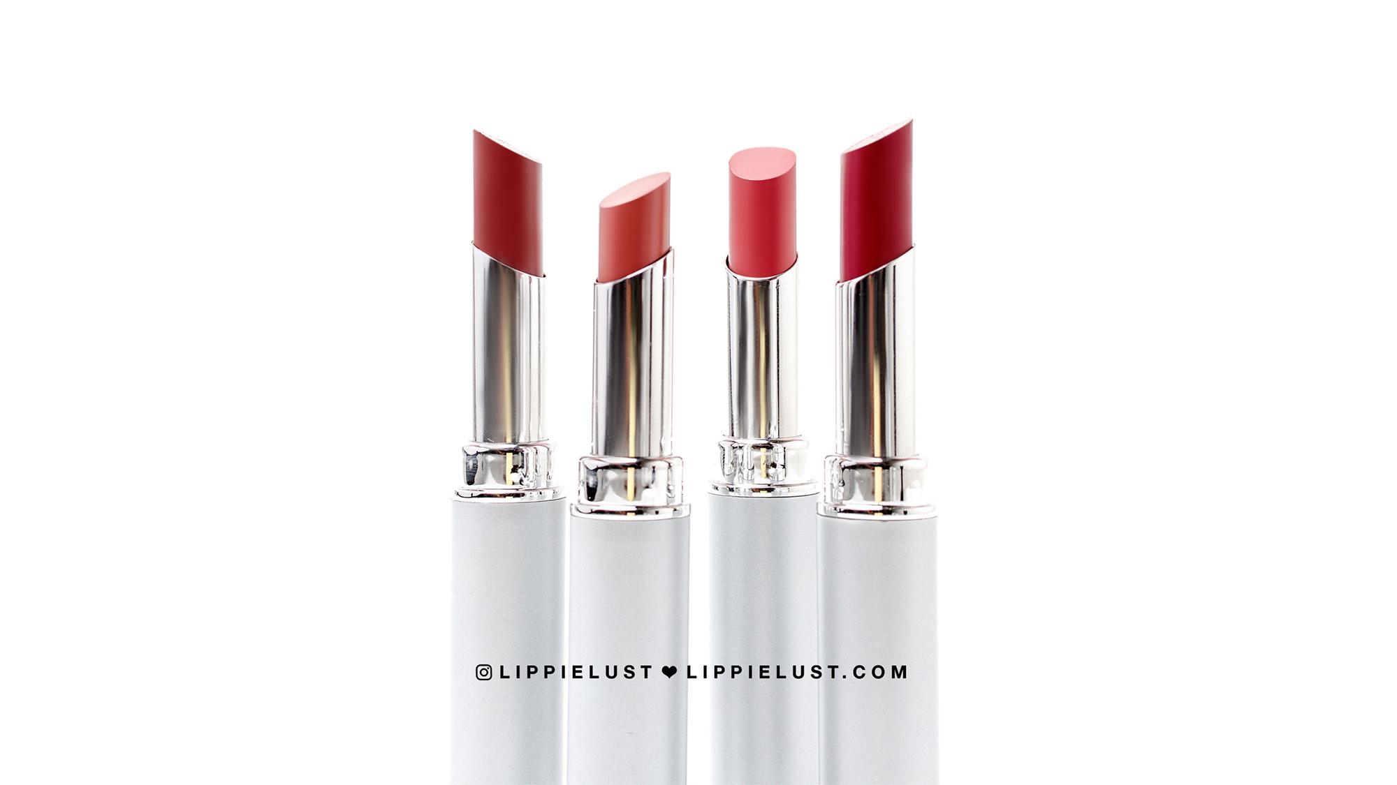 Swatch Review Wardah Cosmetics Intense Matte Lipstick All Shades